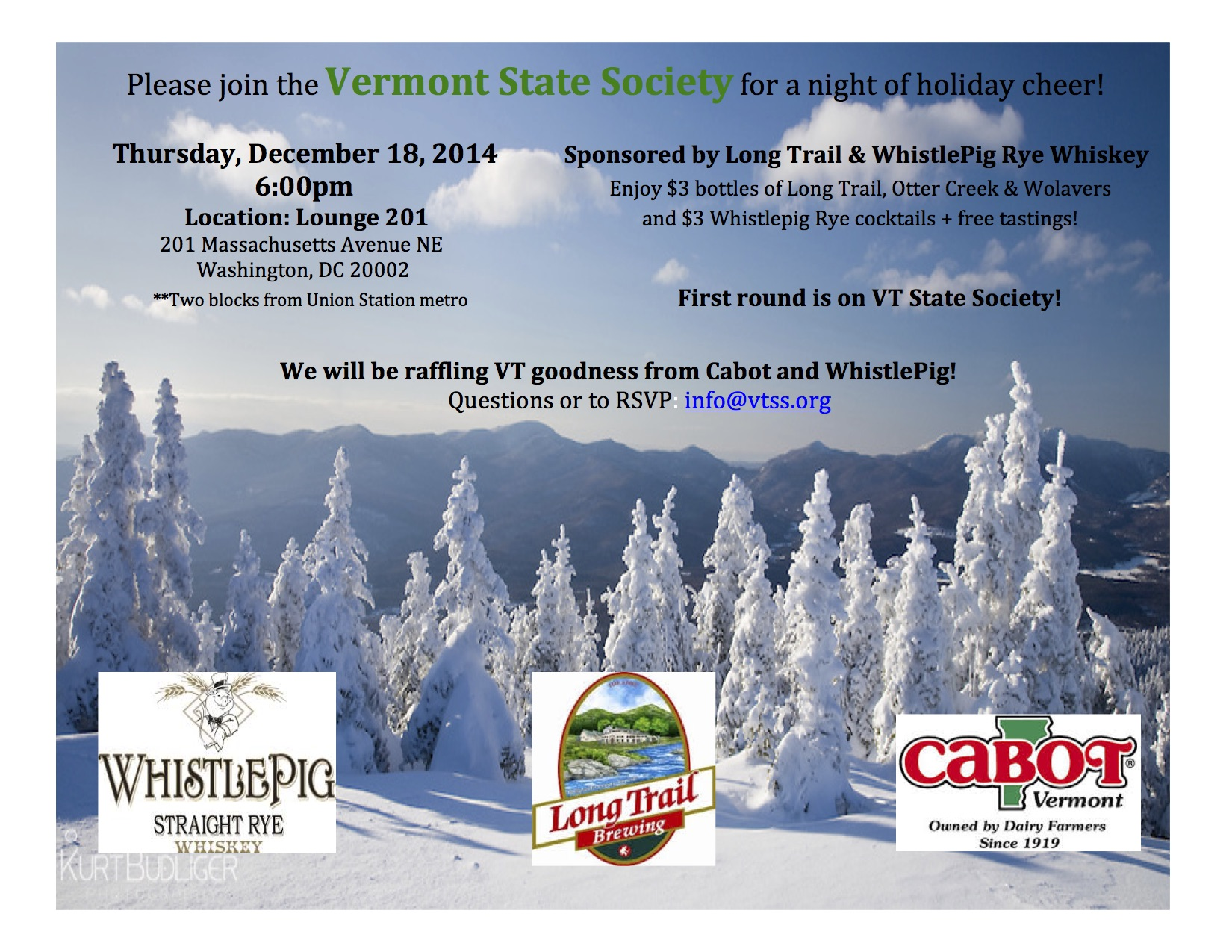 VTSS Holiday 2014
