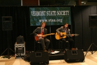 Music provided by Vermont musicians Lowell Thompson (R) and Brett Lanier (L)